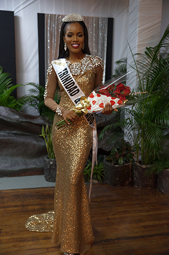 Yvonne Clarke crowned as Miss Universe Trinidad & Tobago
