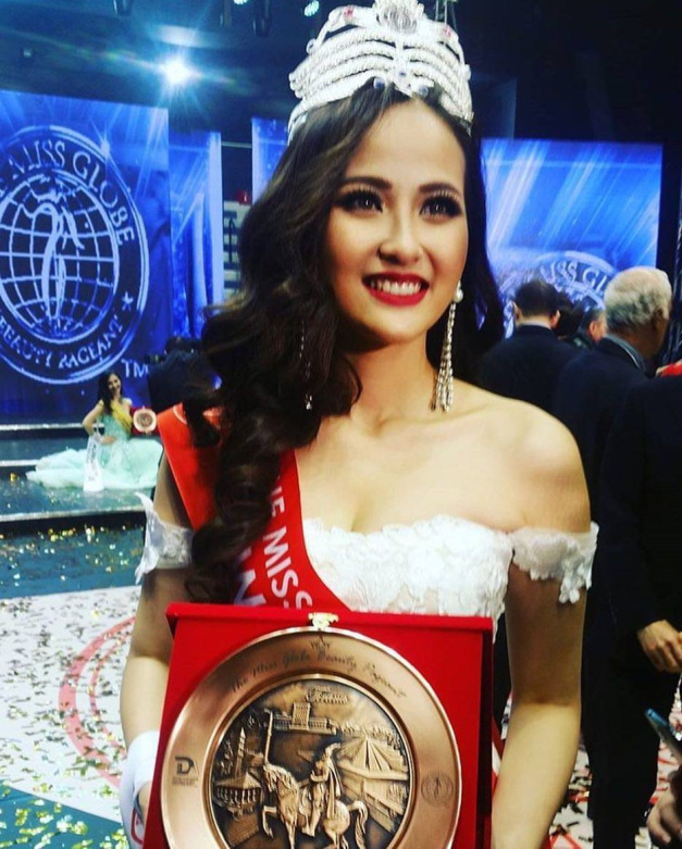 Do Tran Khanh Ngan from Vietnam is The Miss Globe 2017