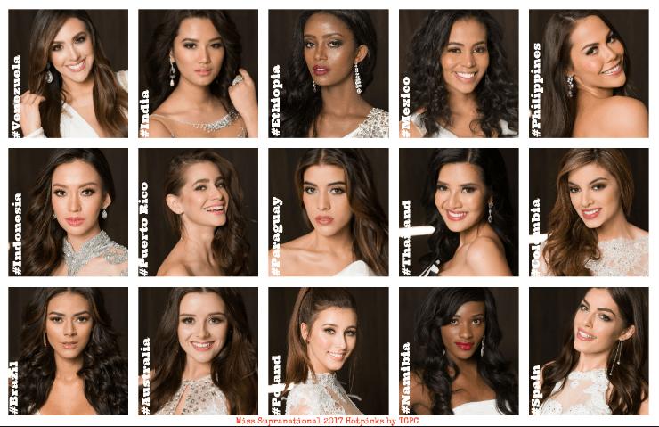 Miss Supranational 2017: Final Hotpicks