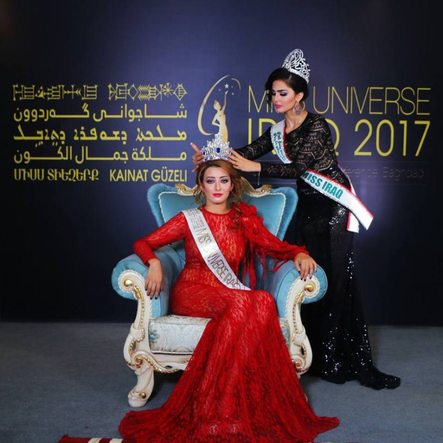 Sarah Idan crowned as Miss Universe Iraq 2017