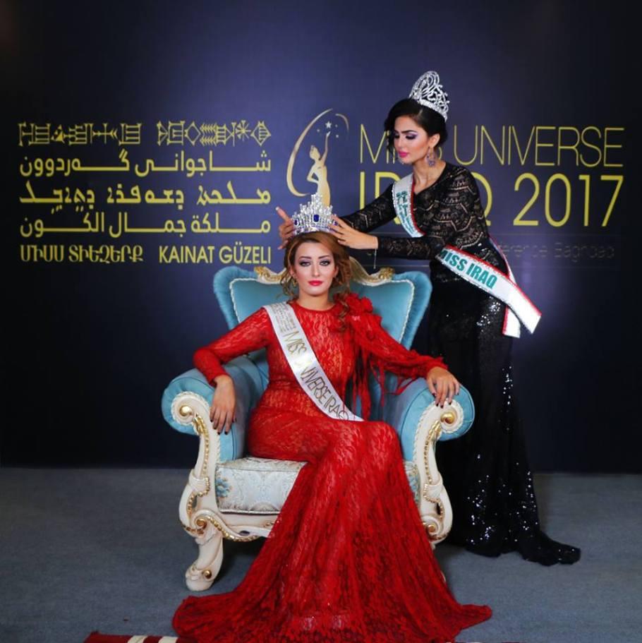 Sarah Idan crowned as Miss Universe Iraq 2017