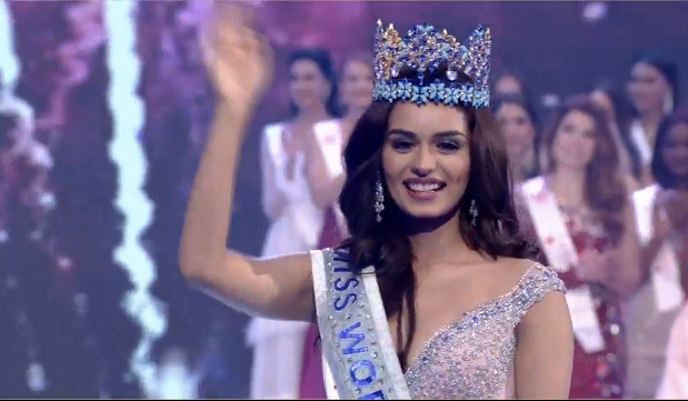 Manushi Chhillar of India is Miss World 2017