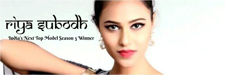 Riya Subodh wins India's Next Top Model Season 3