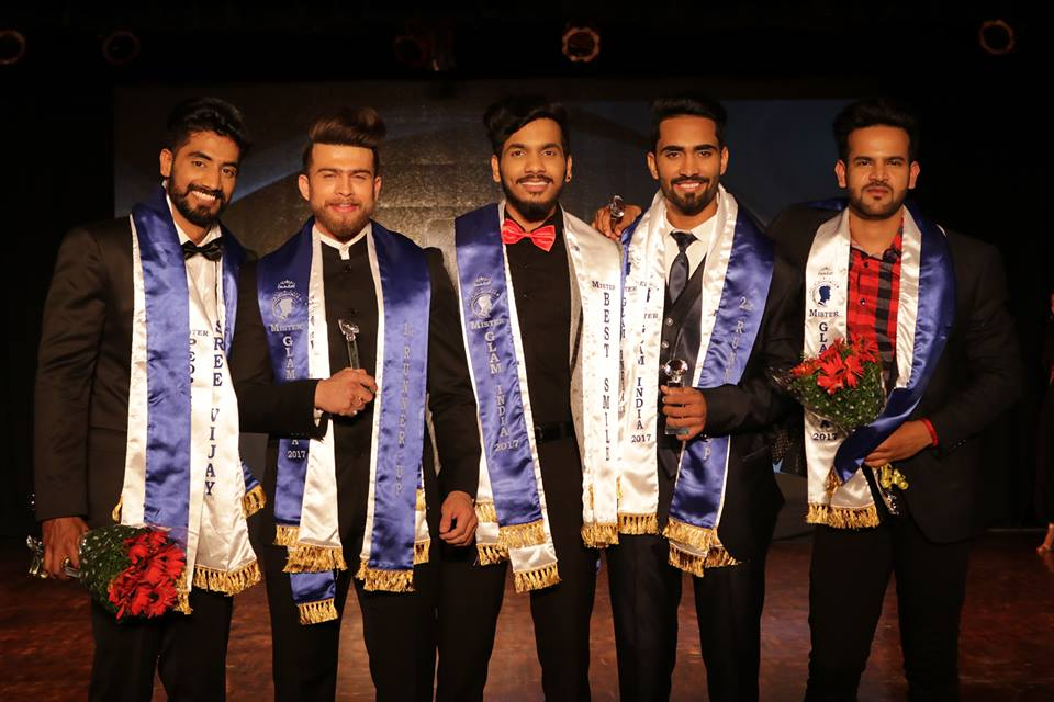 Harish M wins Mister Glam India 2017 by CoutuRoll Fashion Hub
