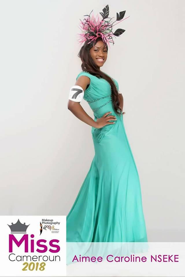 Aimee Caroline Nseke wins Miss Cameroun 2018