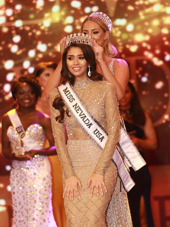 Carolina Urrea wins Miss Nevada USA 2018