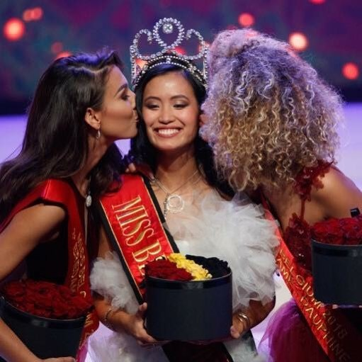 Angeline Flor Pua wins Miss Belgium 2018