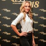 Miss Slovensko 2018 Contestants