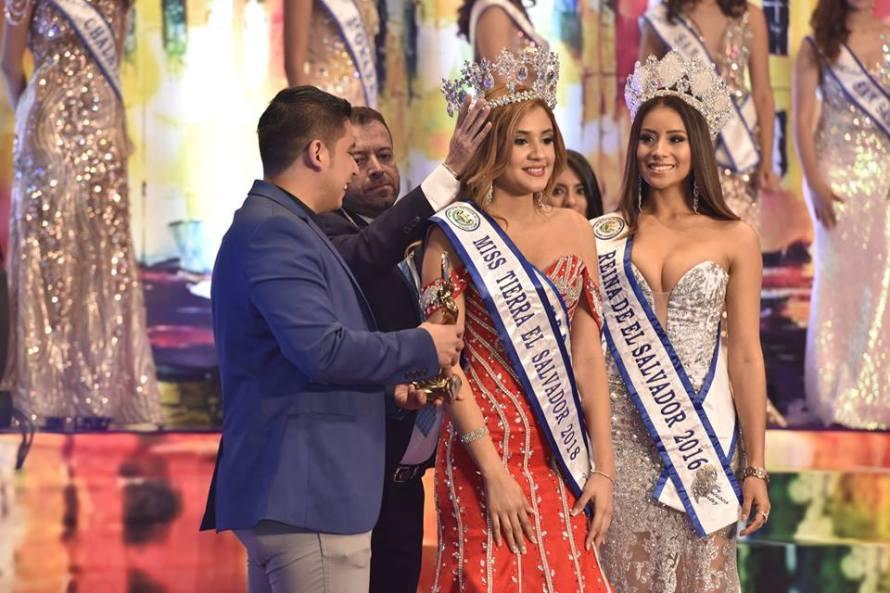 Andrea Jaco crowned as Miss Earth El Salvador 2018