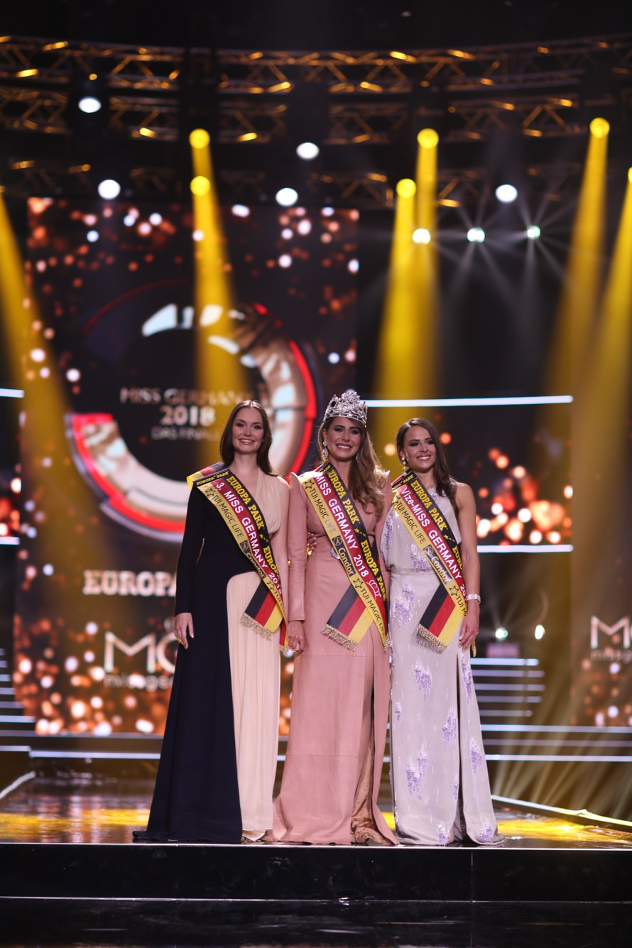 Anahita Rehbein wins Miss Germany 2018