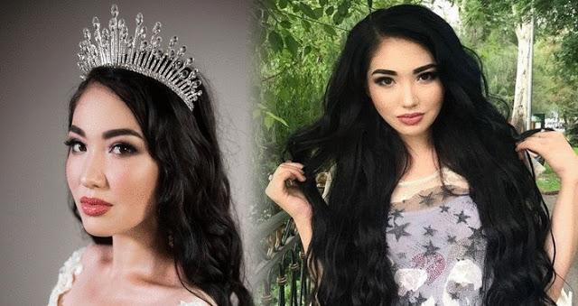 Sabina Azimbaeva is Miss Universe Kazakhstan 2018