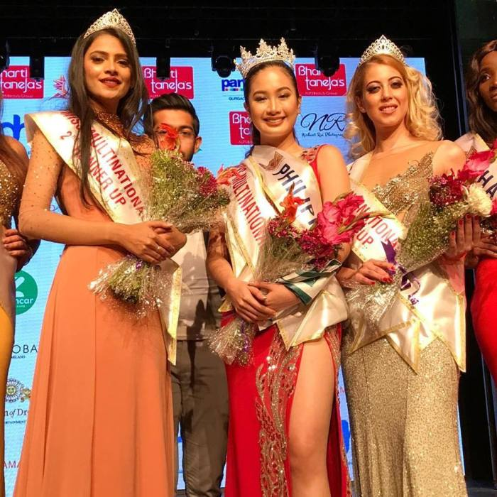 Sophia Senoron from Philippines crowned as Miss Multinational 2018