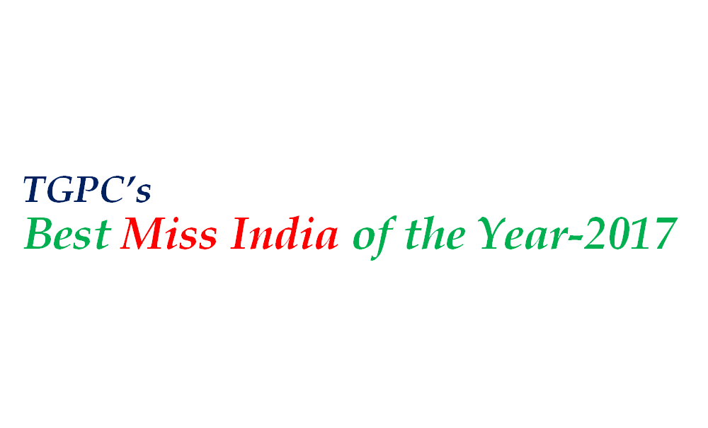 TGPC's Best Miss India of the Year-2017