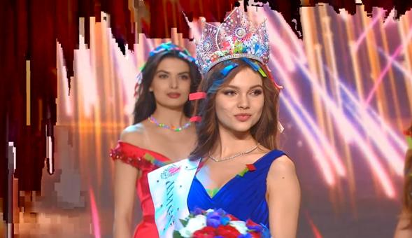 Yulia Polyachikhina wins Miss Russia 2018