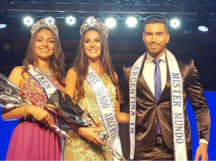 Victoria Soto wins Miss World Argentina 2018