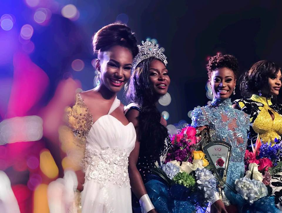 Brinique Gibson crowned as Miss World Bahamas 2018