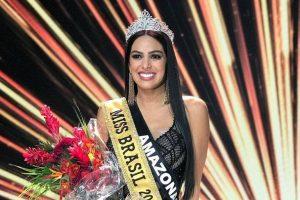 Mayra Dias wins Miss Brasil 2018