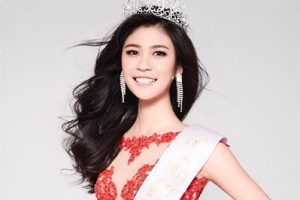 Qin Meisu crowned as Miss Universe China 2018
