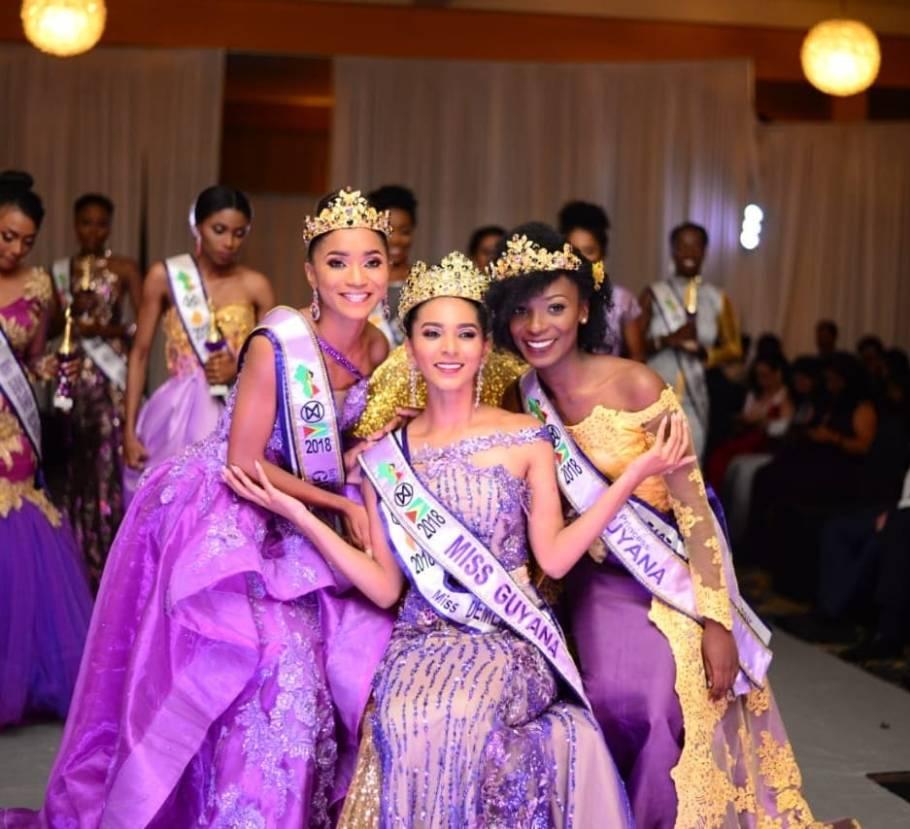 Ambika Ramraj crowned as Miss World Guyana 2018