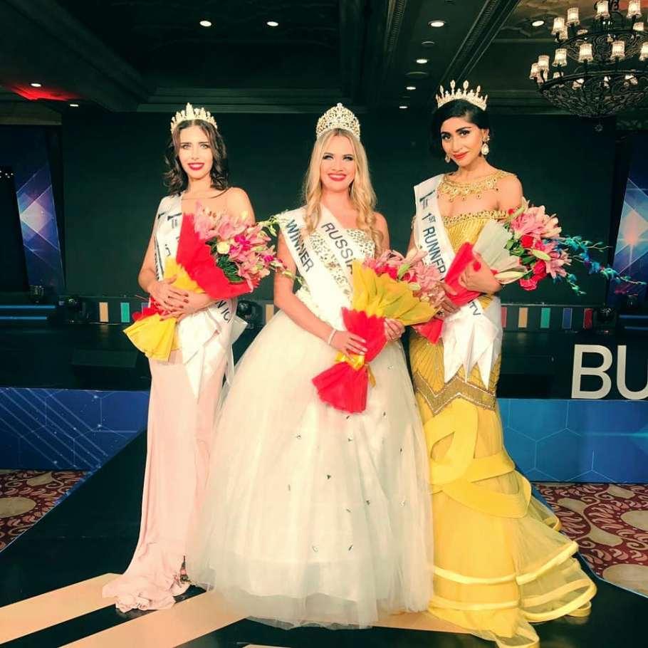 Elena Vervekina from Russia wins Miss BRICS International 2018
