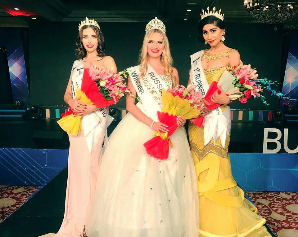 Elena Vervekina from Russia wins Miss BRICS International 2018