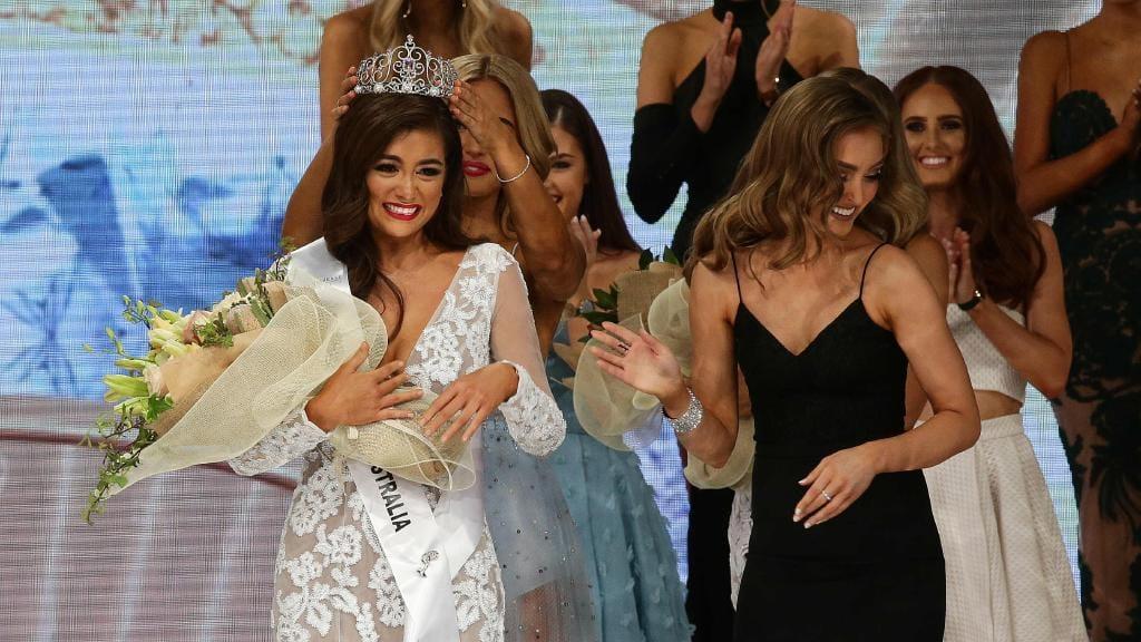 Francesca Hung wins Miss Universe Australia 2018
