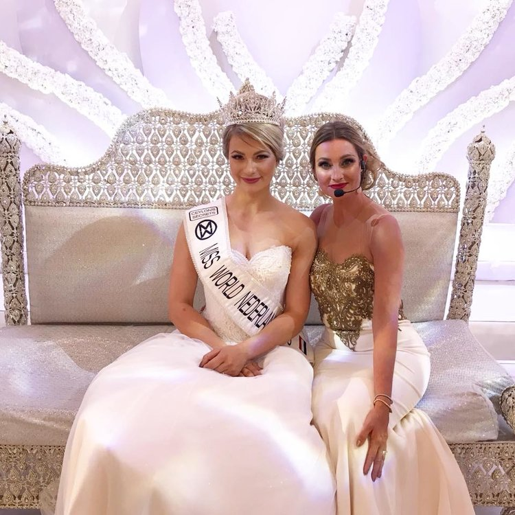 Leonie Hesselink crowned as Miss World Netherlands 2018