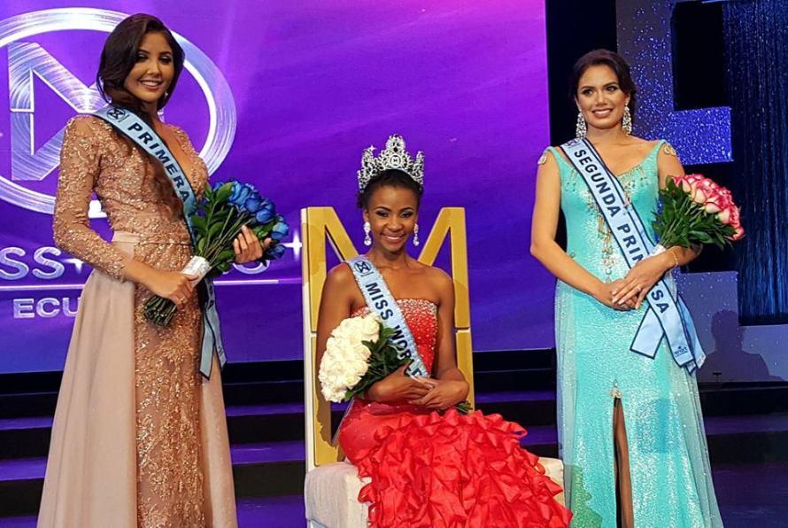 Nicol Ocles crowned Miss World Ecuador 2018