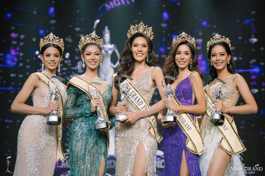Moss Namoey Chanaphan from Phuket wins Miss Grand Thailand 2018