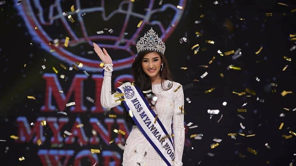 Han Thi wins Miss Myanmar World 2018
