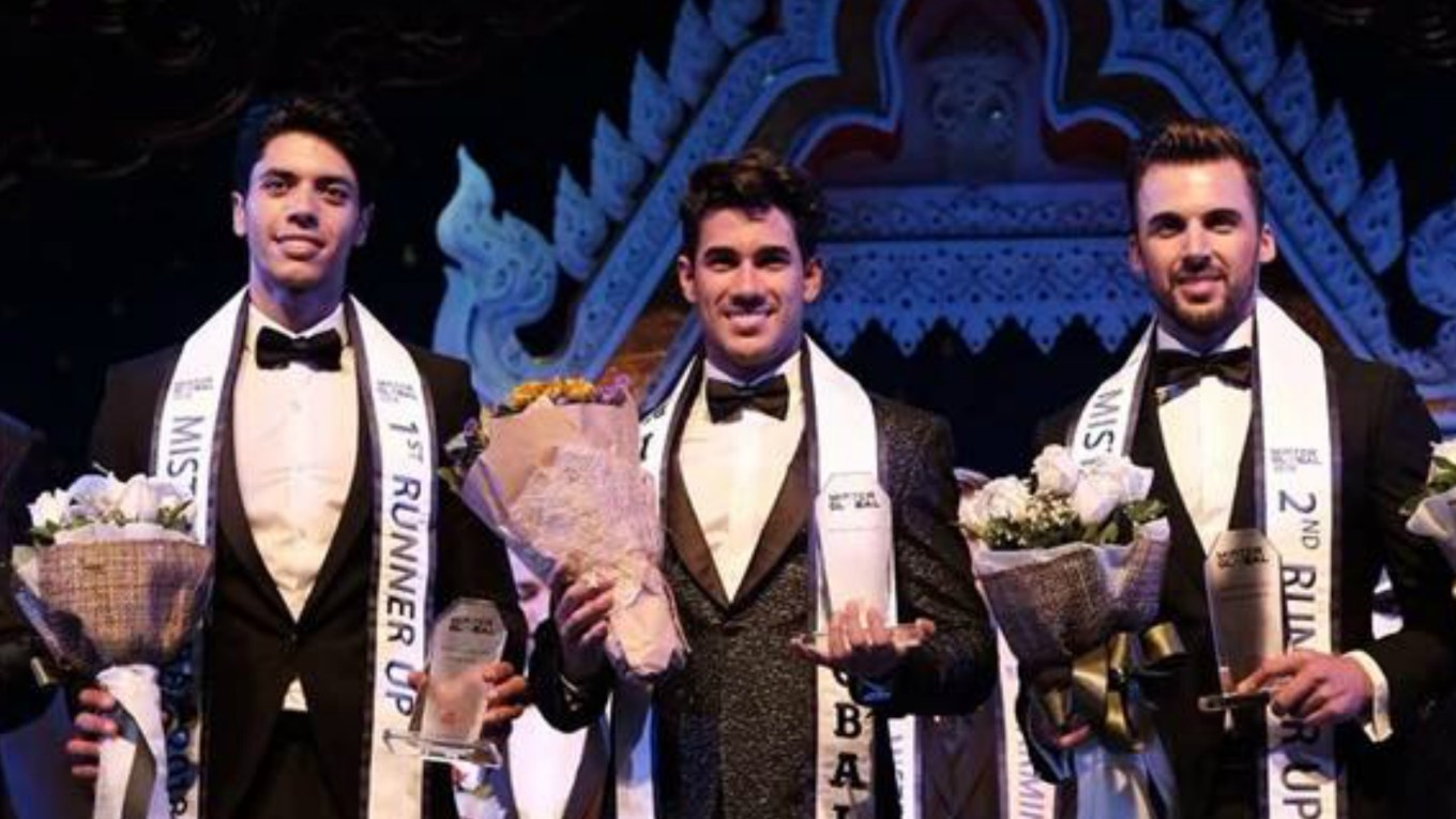 Dario Duque wins Mister Global 2018