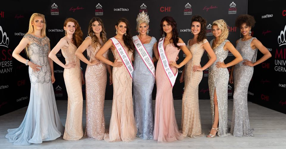 Celine Willers crowned Miss Universe Germany 2018 - The ...