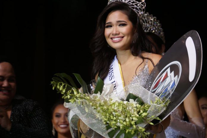 Athena McNinch is crowned Miss Universe Guam 2018