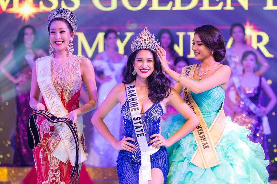 Shwe Eain Si was crowned Miss Golden Land Myanmar 2018