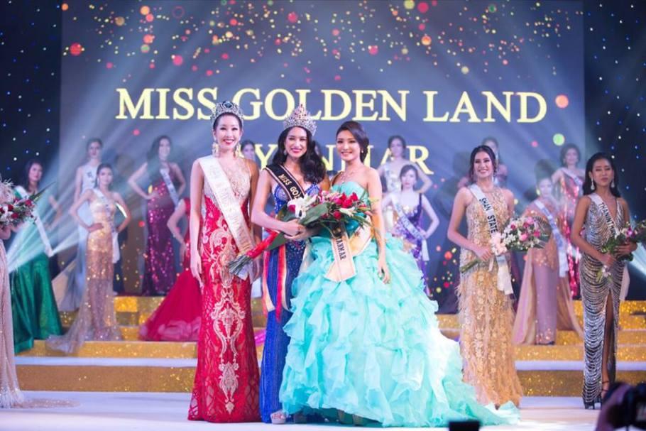 Shwe Eain Si was crowned Miss Golden Land Myanmar 2018