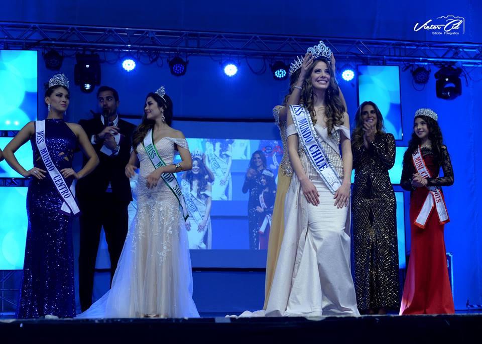 Anahi Hormazabal crowned Miss Mundo Chile 2018