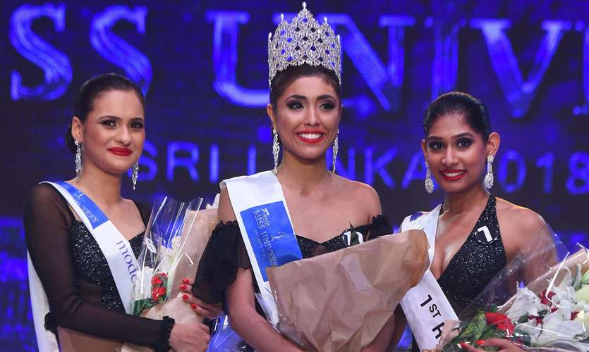 Ornella Gunasekara crowned as Miss Universe Sri Lanka 2018