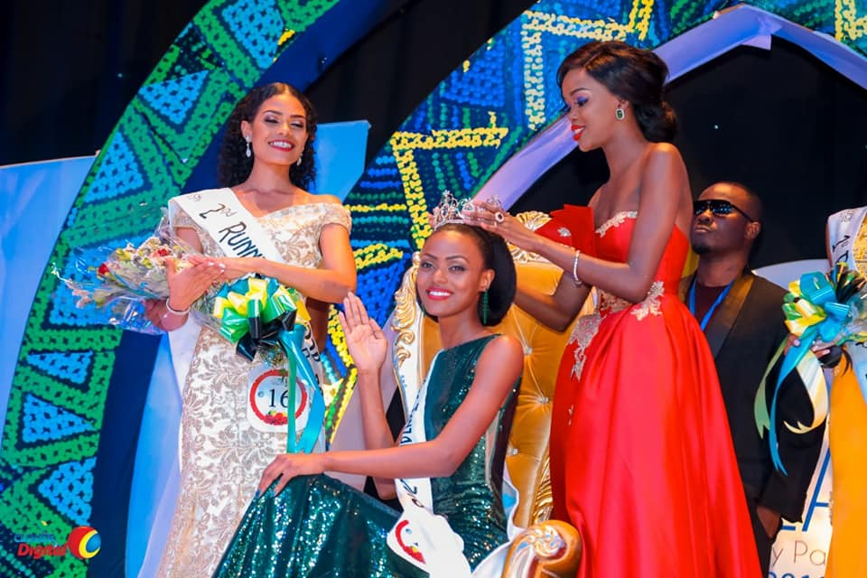 Queen Elizabeth Makune crowned as Miss World Tanzania 2018