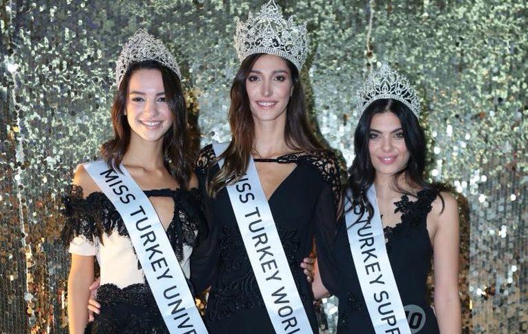 Meet the winners of Miss Turkey 2018