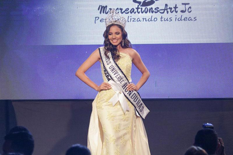 Vanessa Villars crowned as Miss Universe Honduras 2018