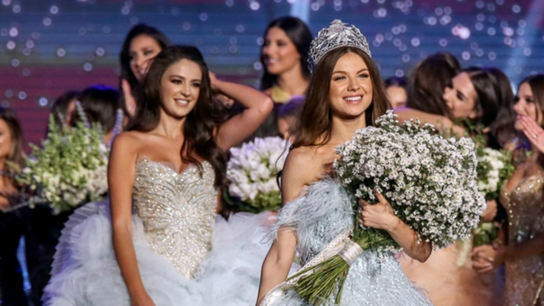 Maya Reaidy, Miss Lebanon 2018 in a stunning Nicolas Jebran creation