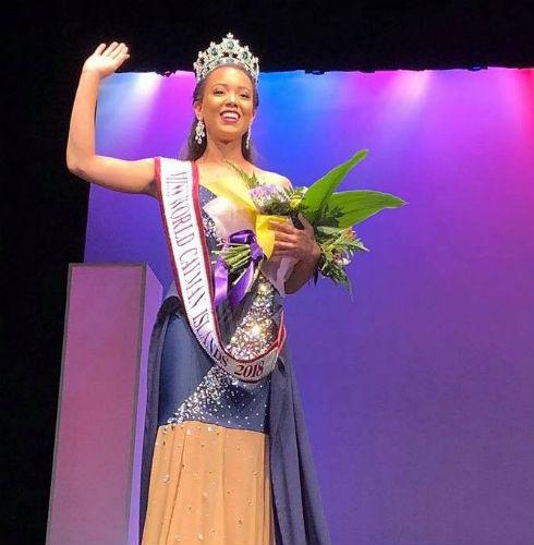 Kelsie Woodman Bodden was crowned as Miss World Cayman Islands 2018