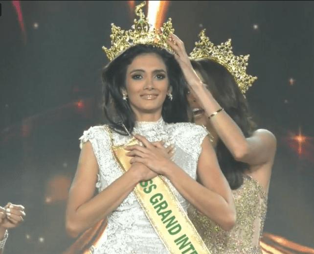 Clara Sosa from Paraguay wins Miss Grand International 2018