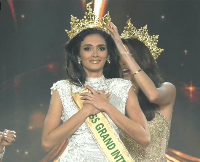 Clara Sosa from Paraguay wins Miss Grand International 2018