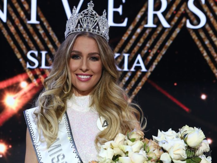 Barbora Hanová crowned as Miss Universe Slovak Republic 2018