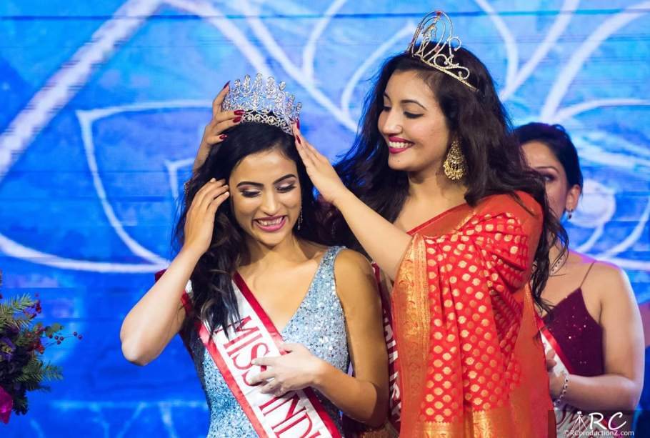 Milanpreet Kaur crowned as Miss India Washington USA 2018