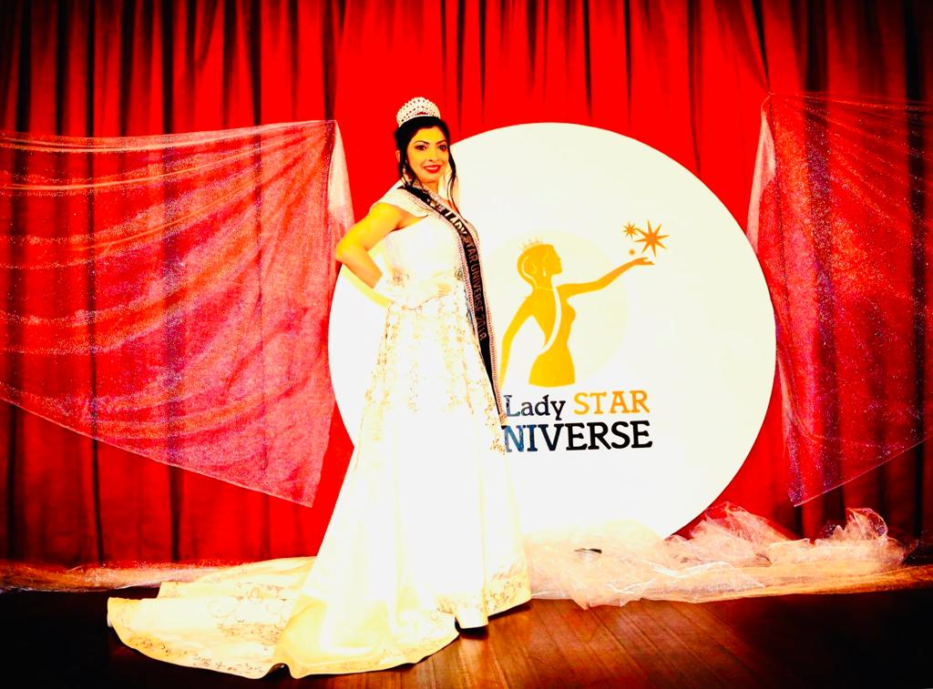 Simran Godhwani from India crowned as Lady Star Universe 2018