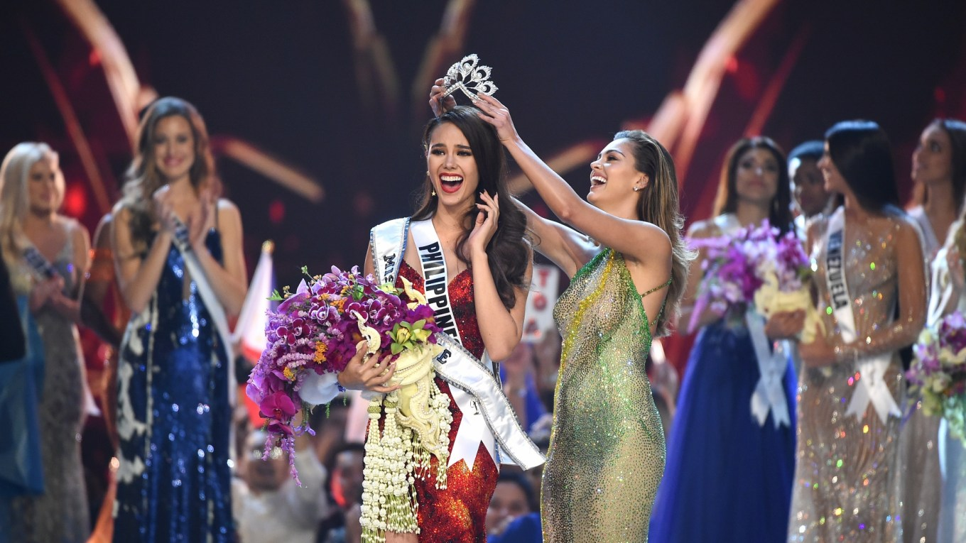 Miss Universe 2018 Catriona Gray from Philippines