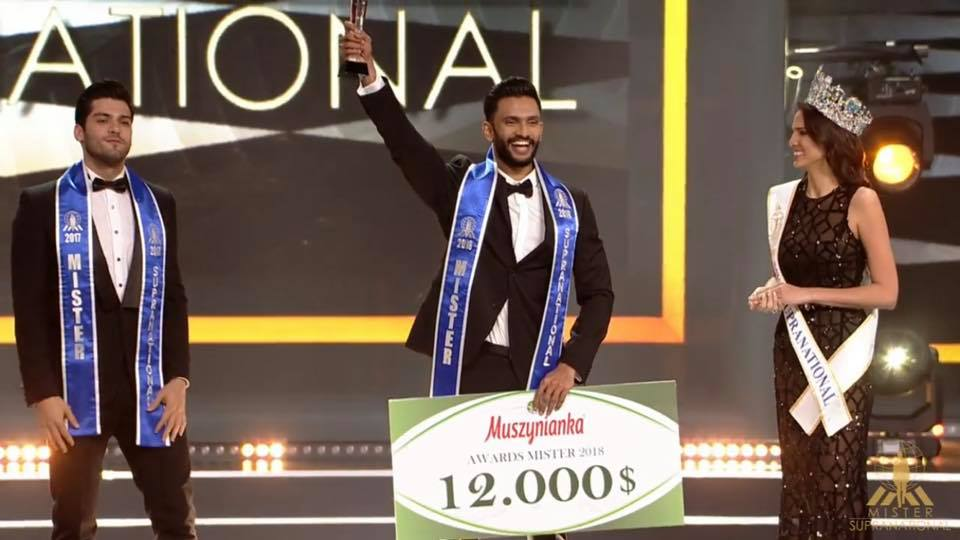 Prathamesh Maulingkar from India wins Mister Supranational 2018
