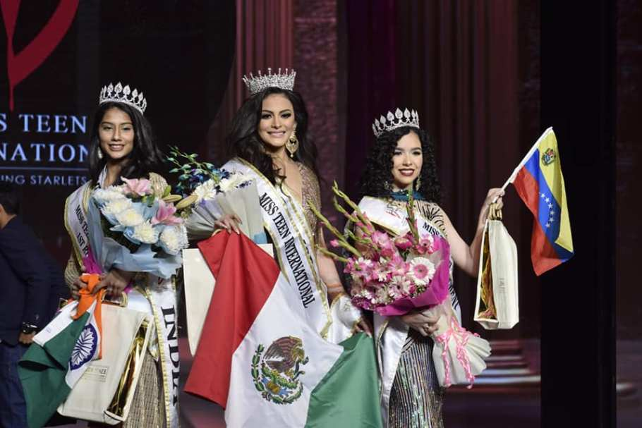 Odalys Duarte from Mexico wins Miss Teen International 2018